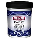 Weiman Jewelry Cleaner Liquid–ridona lucentezza e brillantezza all' Oro, Diamante, Platinum Jewelry & Pietre preziose–7FL. oz.