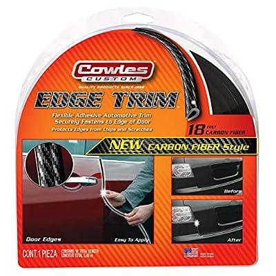 Cowles T5603 Carbon Fiber Style Edge Trim for Cars