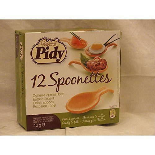 Pidy - 12 Spoonettes - 42g