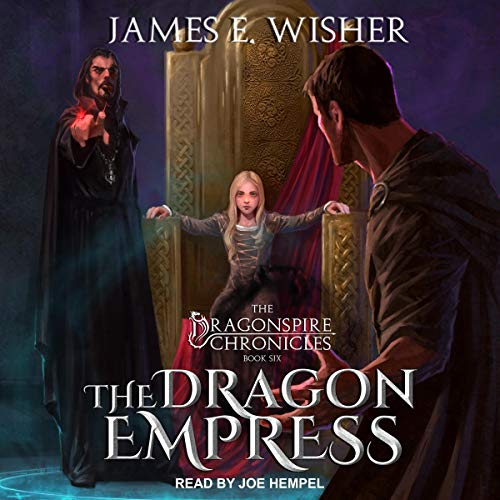 The Dragon Empress audiobook cover art