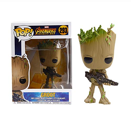 Bambola -pop Marvel galactic groot Avenger 3 grote brinkerdos Collection doll toy regalo di Natale per bambini-box-293