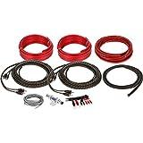 Professional Grade Belva Complete True Spec 8 Gauge 4 Channel Amplifier Wiring Kit (BAK84)...