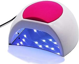Lámpara portátil para uñas de Gel, Lámpara compacta para luz de uñas, Lámpara Profesional de Esmalte de Gel para secador de uñas, para esmaltes de uñas y uñas con Sensor, 4 temporizadores