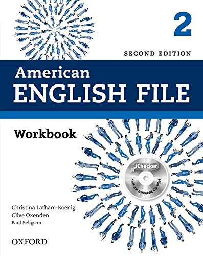 American English File Second Edition: Level 2 Workbook: With iChecker