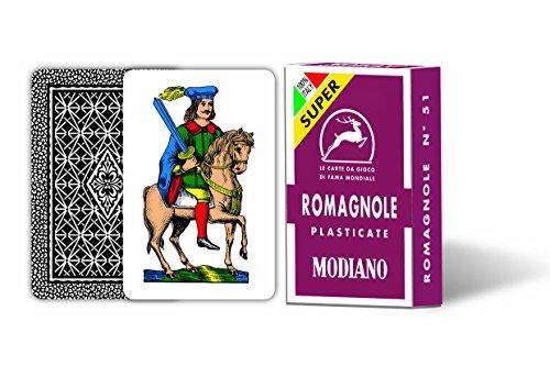 Modiano 300078–Spielkarten Romagnole 51Super