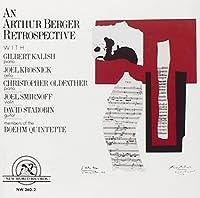 Berger: An Arthur Berger Retrospective by Berger: An Arthur Berger Retrospective (2002-01-01)