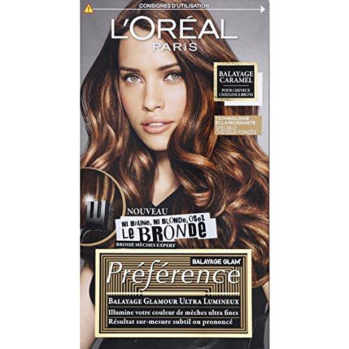 L'Oréal Paris - Préférence - Balayage caramel pour cheveux châtains à bruns - La...