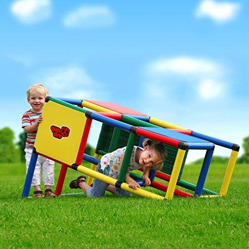 Quadro | Starter | Klettergerüst für drinnen und draußen | Fördert Entwicklung von Kindern | Beliebig modular & erweiterbar | 6 Jahre Garantie | Ab 18 Monate bis 3 Jahre