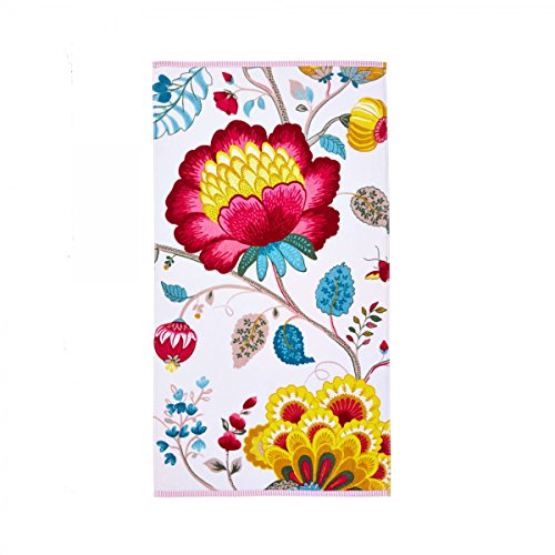 Pip Floral Fantasy Gästetuch 30 x 50 cm, Frottee Farbe:white