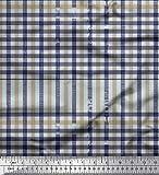 Soimoi Lila Seide Stoff Fensterscheibe prufen Stoff Drucke