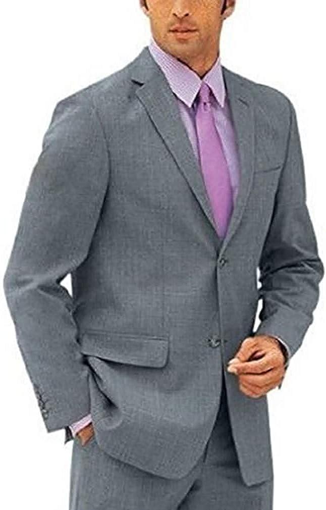 Heine - Blazer - para hombre gris claro 48: Amazon.es: Ropa y ...