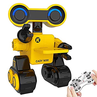 IHBUDS Remote Control Toy Robots for Kids,Programmable Robot ,Dancing,Music,Record Function,Rechargeable,Best Gift for Boys and Girls