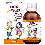 Neo Peques | Jarabe Infantil para Niños Apetito 150 ml | Con Manganeso y Cobre | Tomar 0,5 ml/kg de...