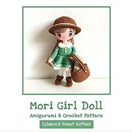 Fiber Art Craft: Female Girl Doll Base Amigurumi Crochet Doll ...   260x260