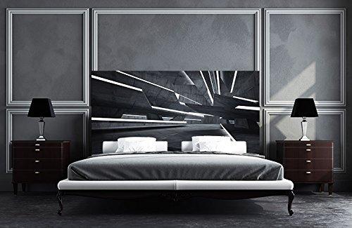 Tête de Lit Panoramique Imprimé Image Motif Décoratif Lueur Cristal | Tête de Lit Pas Cher et Écologique | Tableaux imprimé Facile À Placer | de 200 x 60 cm