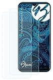 Bruni Schutzfolie kompatibel mit Kiano Elegance 6.1 Pro Folie, glasklare Bildschirmschutzfolie (2X)