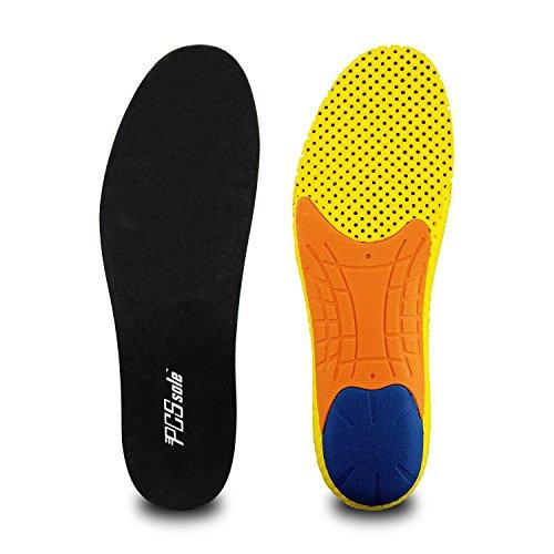PCSsole Plantillas para Zapatos de Deportivas Amortiguadoras, cómodas para Plantillas de gel para Hombre y Mujer, zapatos de trabajo,Tamaño Cortable((EU40-46)