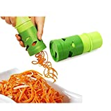 Tailcas Fashionable Multifunction Spiral Vegetable Slicer / Spiralizer Veggie Fruit Twister Cutter Slicer