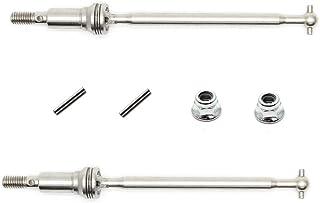 HOSIM RC Car Metal Front CVD Drive Shaft Set Accessory Spare Parts 30-WJ02 for Hosim 9130 RC Car (2 Pcs)