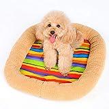 Unbekannt LPFOU Haustier-Schlafkissen für Haustiere, Kühlkissen, XS(42 * 34 * 9cm)