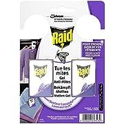 Raid Motten-Gel, Zum Schutz vor Kleidermotten, Mit Lavendel-Duft (1 x 2 Stück)
