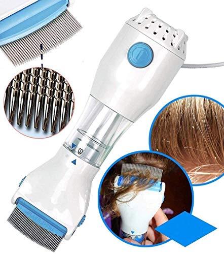 VENIVA 240V Electrical Head Lice Comb Lice Solution Chemical Free Kills Head Lice Capture Lice Removal Treatment V-Comb (White)