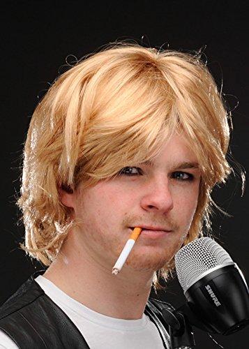 Magic Box Int. Mens unordentlich Blonde Grunge Guy Kurt Cobain Stil Perücke