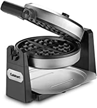 Cuisinart WWM-25PC Belgian Flip Waffle Baker Maker Stainless Steel 1200W Non Stick (Renewed)