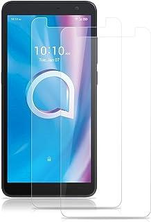 ROVLAK skärmskydd för Alcatel 1B (2020) härdat glas skärmskydd 2-pack HD 2.5D 9H skyddande film skydd anti-fingeravtryck b...