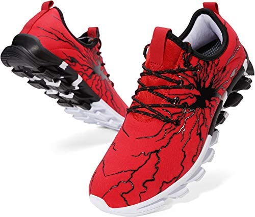 Cheap red bottom sneakers for men _image4