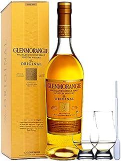 Glenmorangie 10 Jahre The Original Single Malt Whisky 0,7 Liter  2 Glencairn Gläser  Einwegpipette