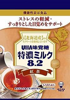 UHA味覚糖 機能性表示食品 特濃ミルク8.2紅茶 袋 93g×6袋