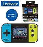 Lexibook- Console di Gioco Portatile Compact Cyber Arcade, 250 Giochi, LCD, Batteria, Vide...