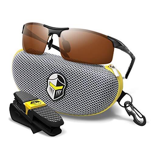 BluPond® polarizadas Gafas de Deporte para los Hombres y Las Mujeres Cobre...