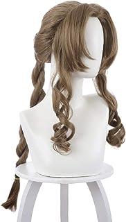 Final Fantasy 7 Remake Aerith Gainsborough Cosplay Wig Cosplay Costume Hair