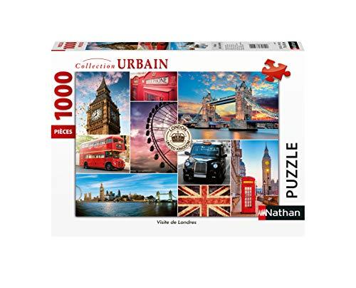 Nathan 4005556876327   Puzzle de 1000 Piezas Visita Londres para Adulto