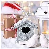 Ambiente tovaglioli Lunch/Fest/Party/ca. 33 x 33 cm Christmas Birdhouse Natale autunno inverno ideale come regalo e decorazione da tavolo.
