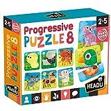 Headu- Progressive Puzzle 8 Infantil (MU23936)