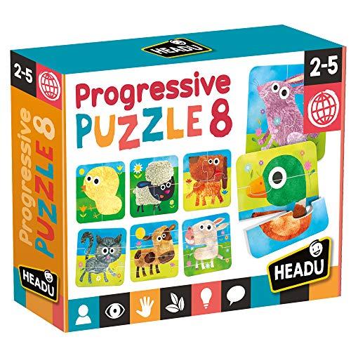 Headu Progressive Puzzle 8, MU23936