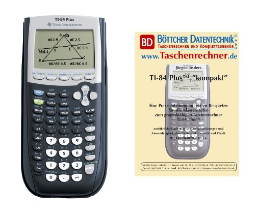 Texas Instruments TI 84 Plus Pacchetto 2 (+ libro)