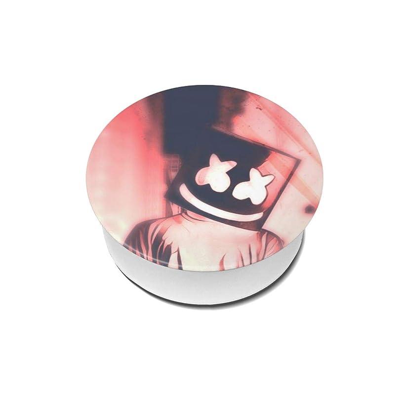 大仮称ビルマYinian 4個入リ マシュメロ Marshmello スマホリング/スマホスタンド/スマホグリップ/スマホアクセサリー バンカーリング スマホ リング 人気 ホールドリング 薄型 スタンド機能 ホルダー 落下防止 軽い 各種他対応/iPhone/Android(2pcs入リ)
