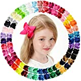 20 lazos de grogrén para niñas y bebés, accesorios para el pelo con...