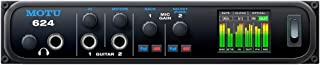 MOTU 624 Thunderbolt / USB3 / AVB Ethernet audio interface with DSP and mixing