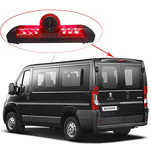 Fahrzeugspezifische Rückfahrkamera Bremslicht Kamera Bremslicht 150° Erfassungswinkel Nachtsicht unterstützung für Citroen Jumper III / X250 / Boxer III AVIS AVS325CPR