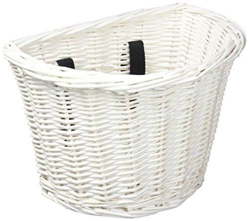 Electra Bicycle Electra Kinder Fahrradkorb Wicker Basket, Weiß, 368810
