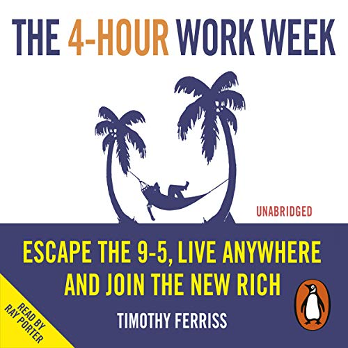 The 4-Hour Work Week audiobook cover art