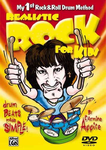 Realistic Rock for Kids (My 1st Rock & Roll Drum Method): Drum Beats Made Simple! (DVD)