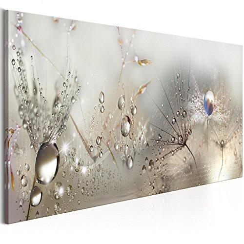 murando - Bilder Pusteblume 150x50 cm Vlies Leinwandbild 1 TLG Kunstdruck modern Wandbilder XXL Wanddekoration Design Wand Bild - Blumen Natur grau Pusteblumen b-C-0169-b-b