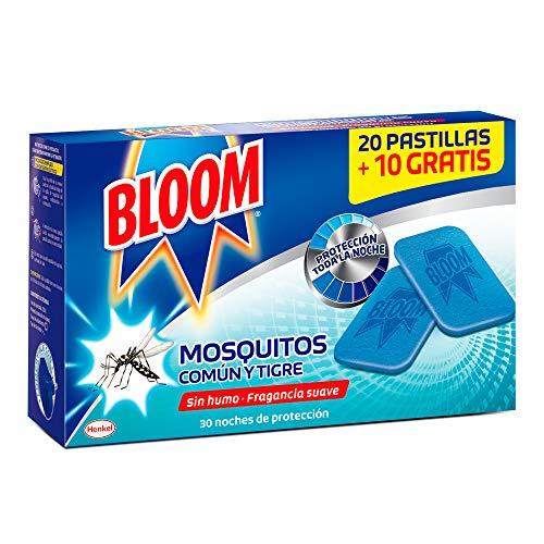 Recambio Bloom Eléctrico Pastillas contra mosquitos común y tigre