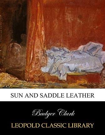 Sun and saddle leather